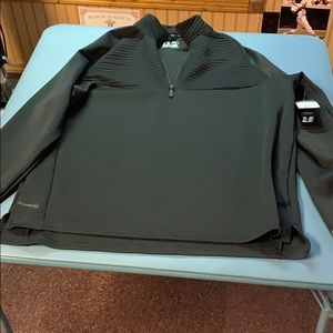 Men's Russell Quilted Half Zip Training Fit Jacket